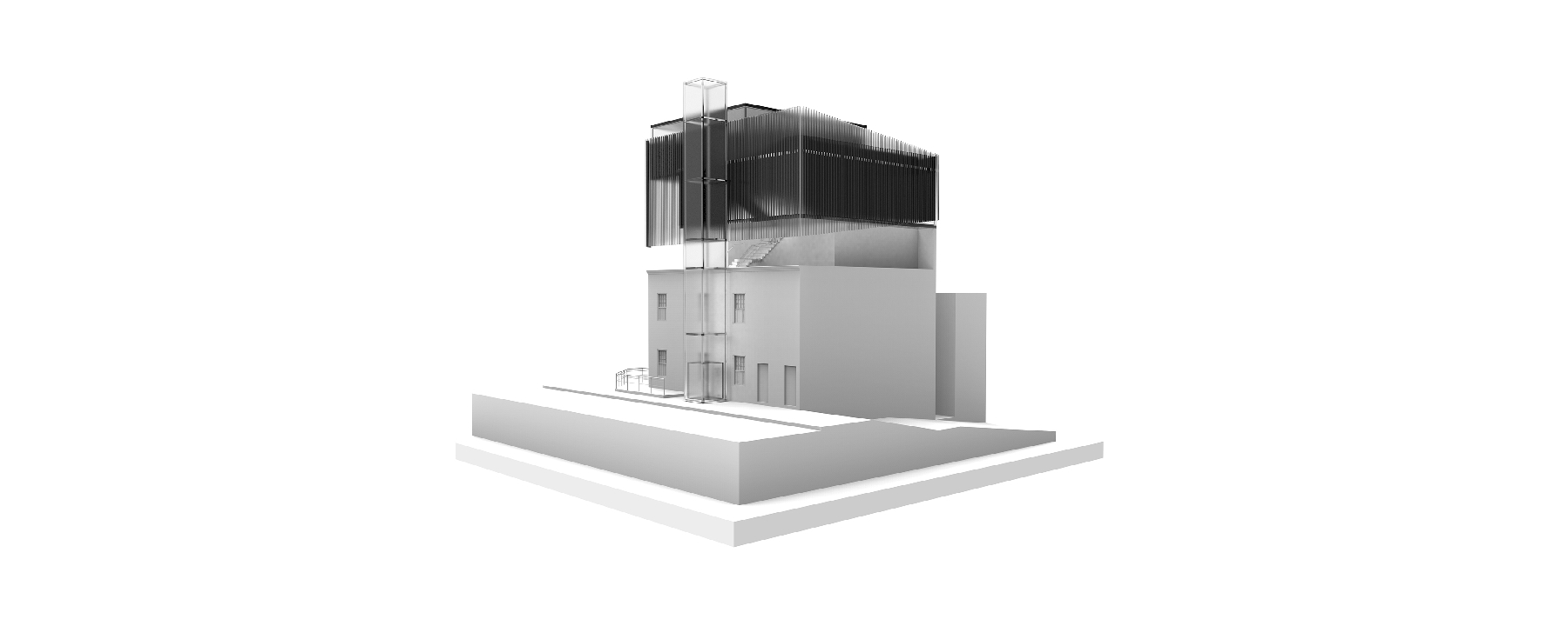 Handre de la Rey Cape Town Architecture Proposal 003